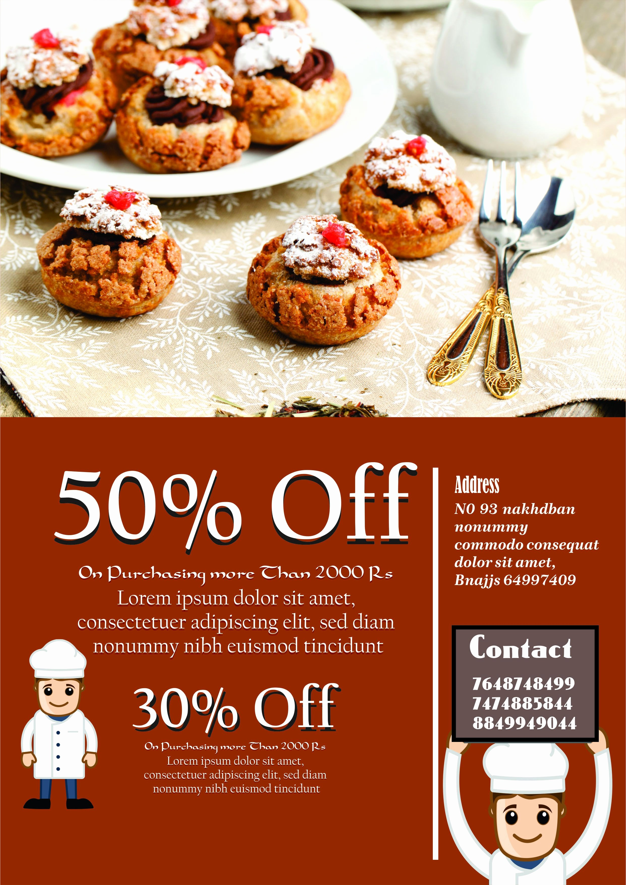 Bake Sale Flyer Template Word New Engaging Free Bake Sale Flyer Templates for Fundraising
