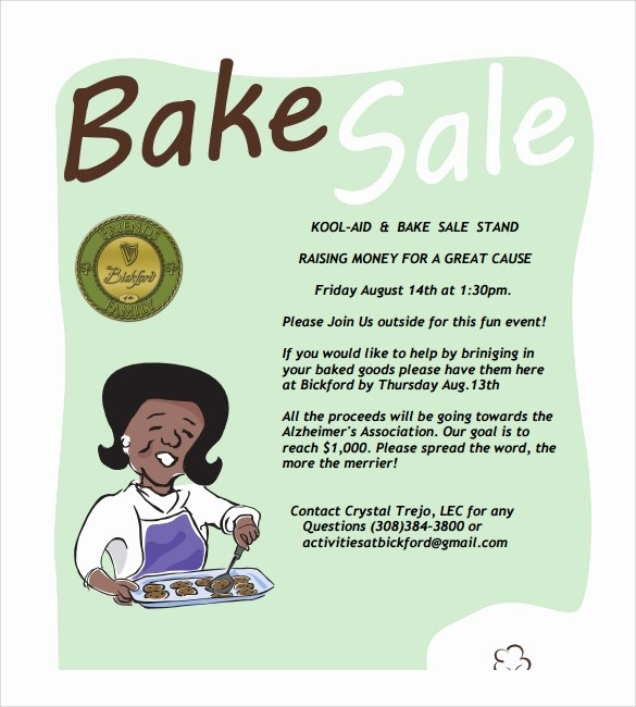 Bake Sale Template Microsoft Word Best Of Donation Flyer Verbiage