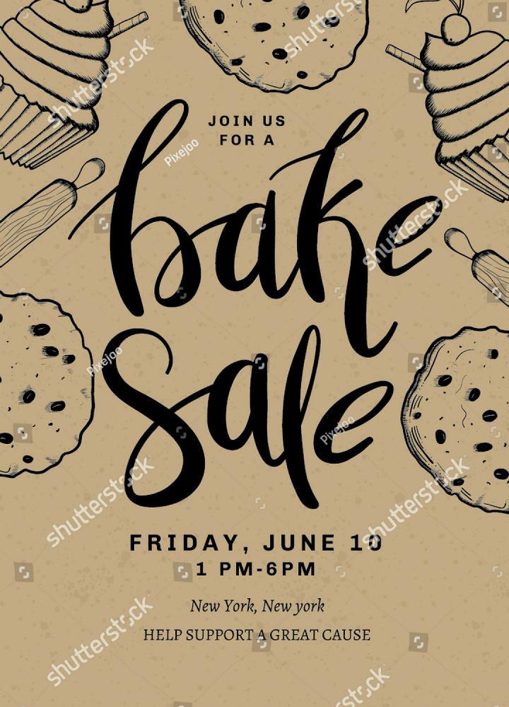 Bake Sale Template Microsoft Word Elegant 14 Restaurant Fundraising Flyer Designs & Templates Psd