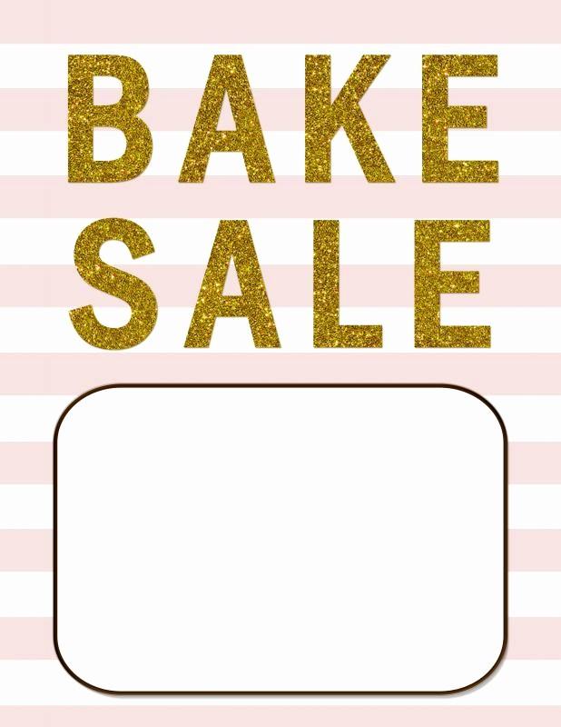 Bake Sale Template Microsoft Word Elegant Bake Sale Flyer Template