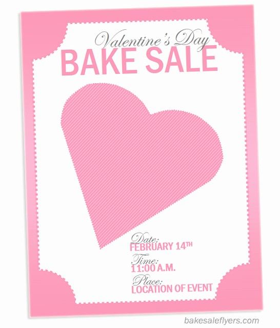 Bake Sale Template Microsoft Word Fresh Bake Sale Flyers – Free Flyer Designs