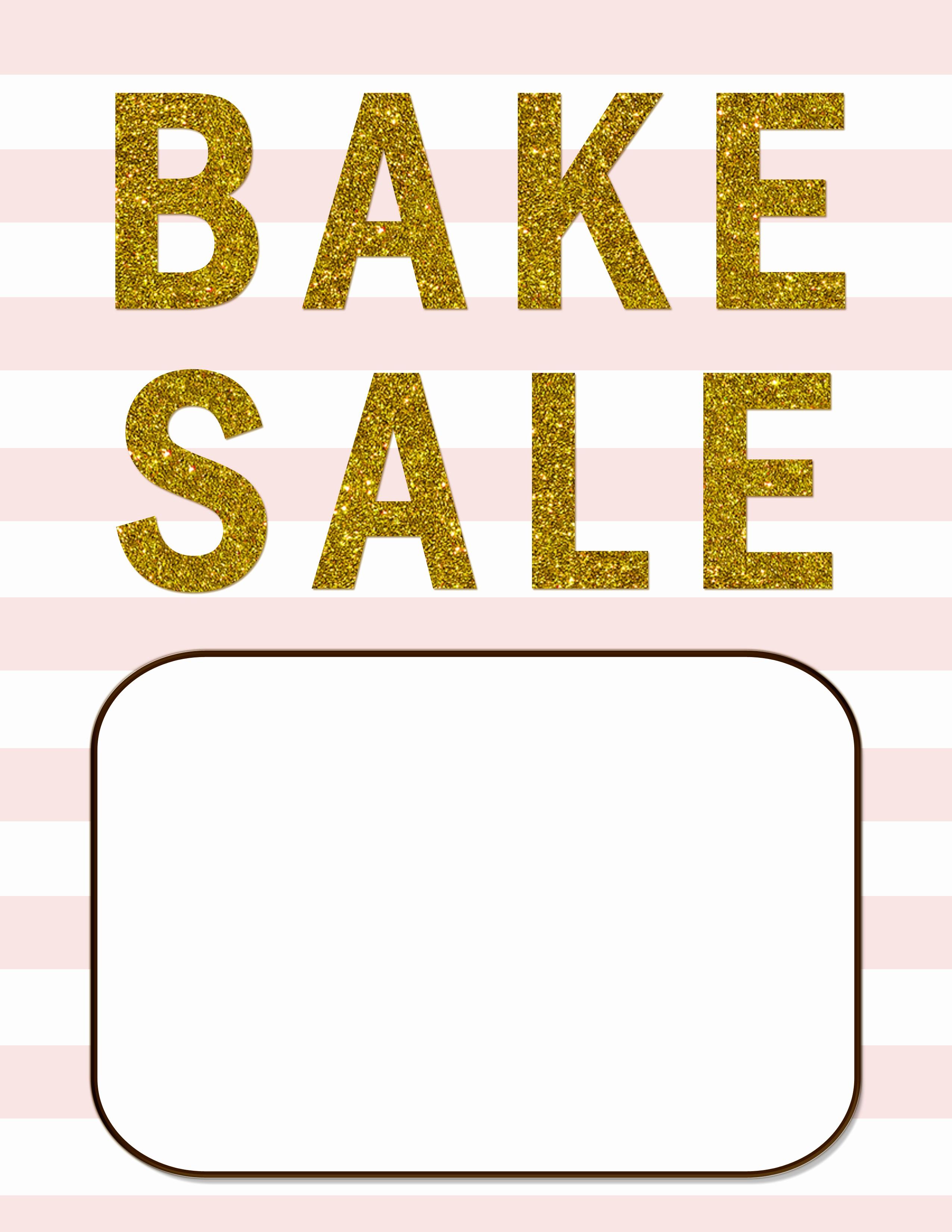 Bake Sale Template Microsoft Word Fresh Best S Of Bake Sale Template Microsoft Word Free