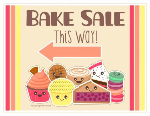 Bake Sale Template Microsoft Word Inspirational Printable Bake Sale Signs