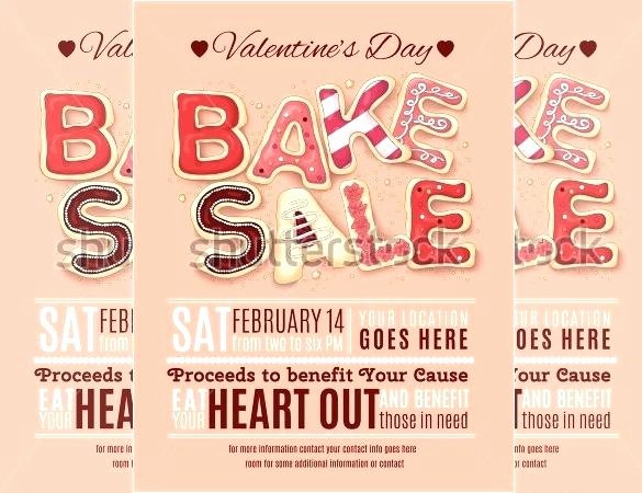 Bake Sale Template Microsoft Word Lovely for Sale Flyer with Tear F Tabs Free Printable Designs