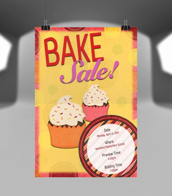 Bake Sale Template Microsoft Word Luxury 34 Bake Sale Flyer Templates Free Psd Indesign Ai