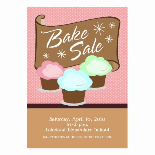 Bake Sale Template Microsoft Word Luxury Pin Bake Sale Flyers Cake On Pinterest