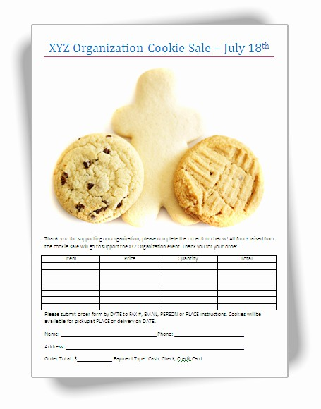Bake Sale Template Microsoft Word New Bake Sale Flyers – Free Flyer Designs