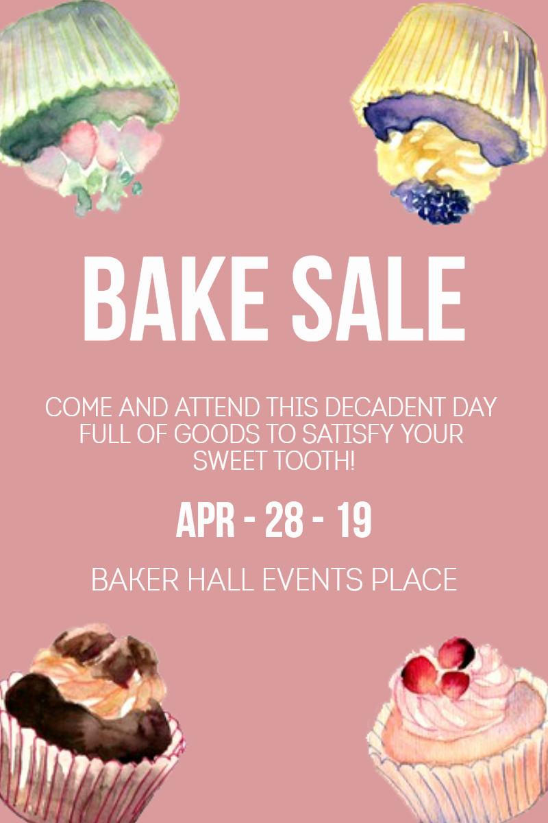 Bake Sale Template Microsoft Word Unique Bake Sale Templates Joselinohouse