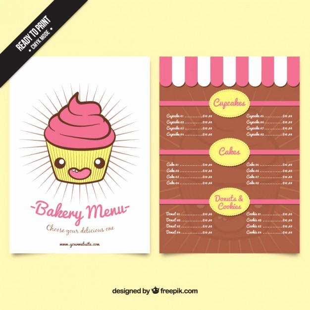 "Bakery Menu Template Word Free Unique Search Results for ""template for An Agenda"" – Calendar 2015"