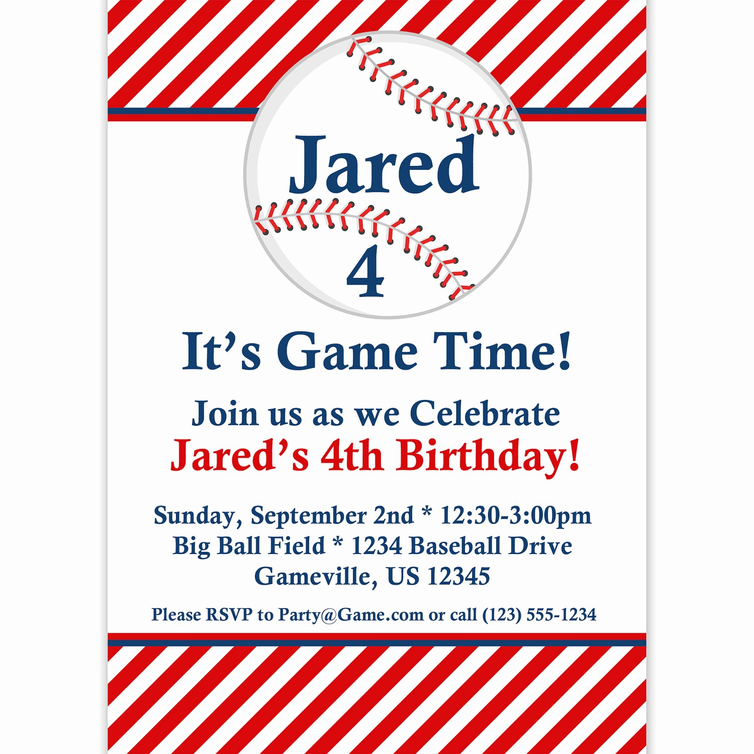 Baseball Ticket Invitation Template Free Inspirational 9 Best Of Free Baseball Printable Invitation