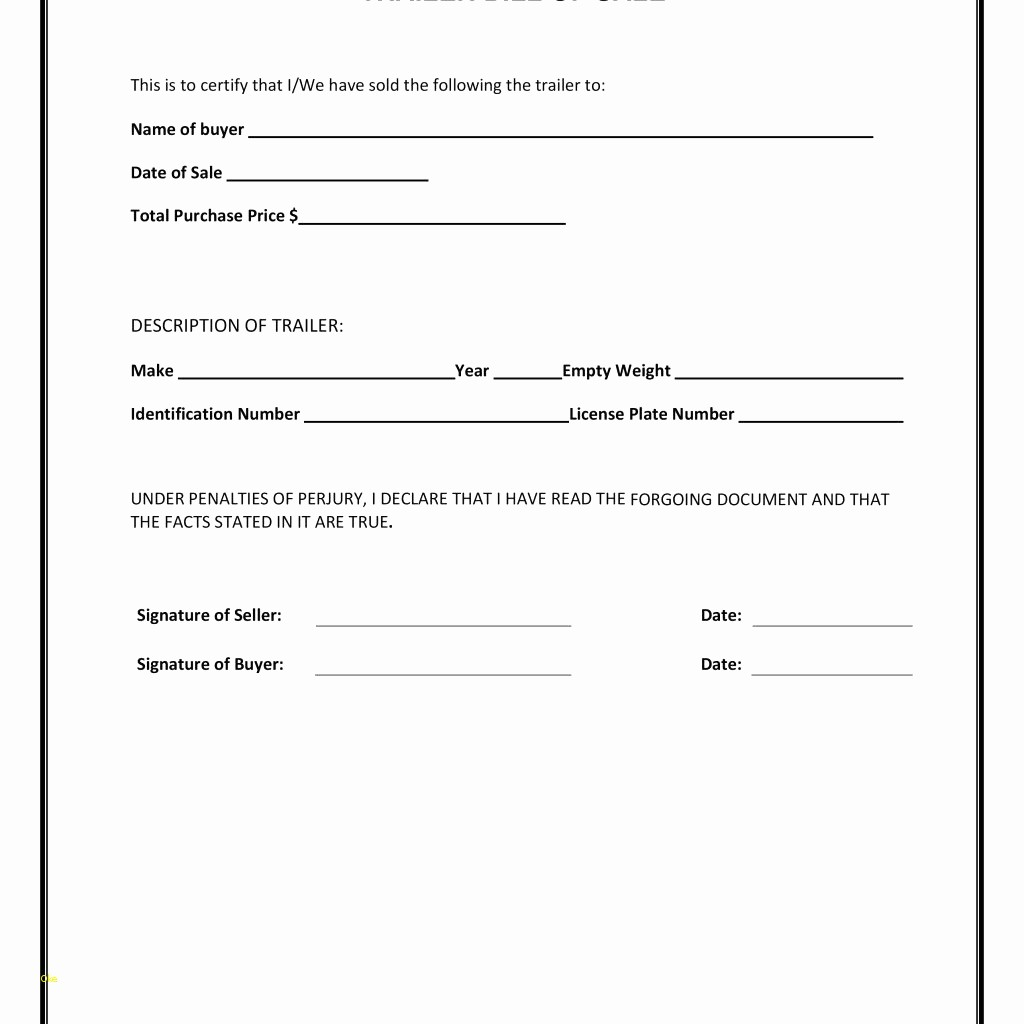 Basic Bill Of Sale Template Awesome Free Vehicle Bill Sale Template Awesome Blank Simple