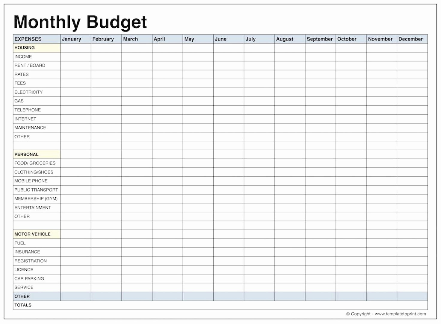 Basic Budget Worksheet College Student Best Of Monthly Bud Template
