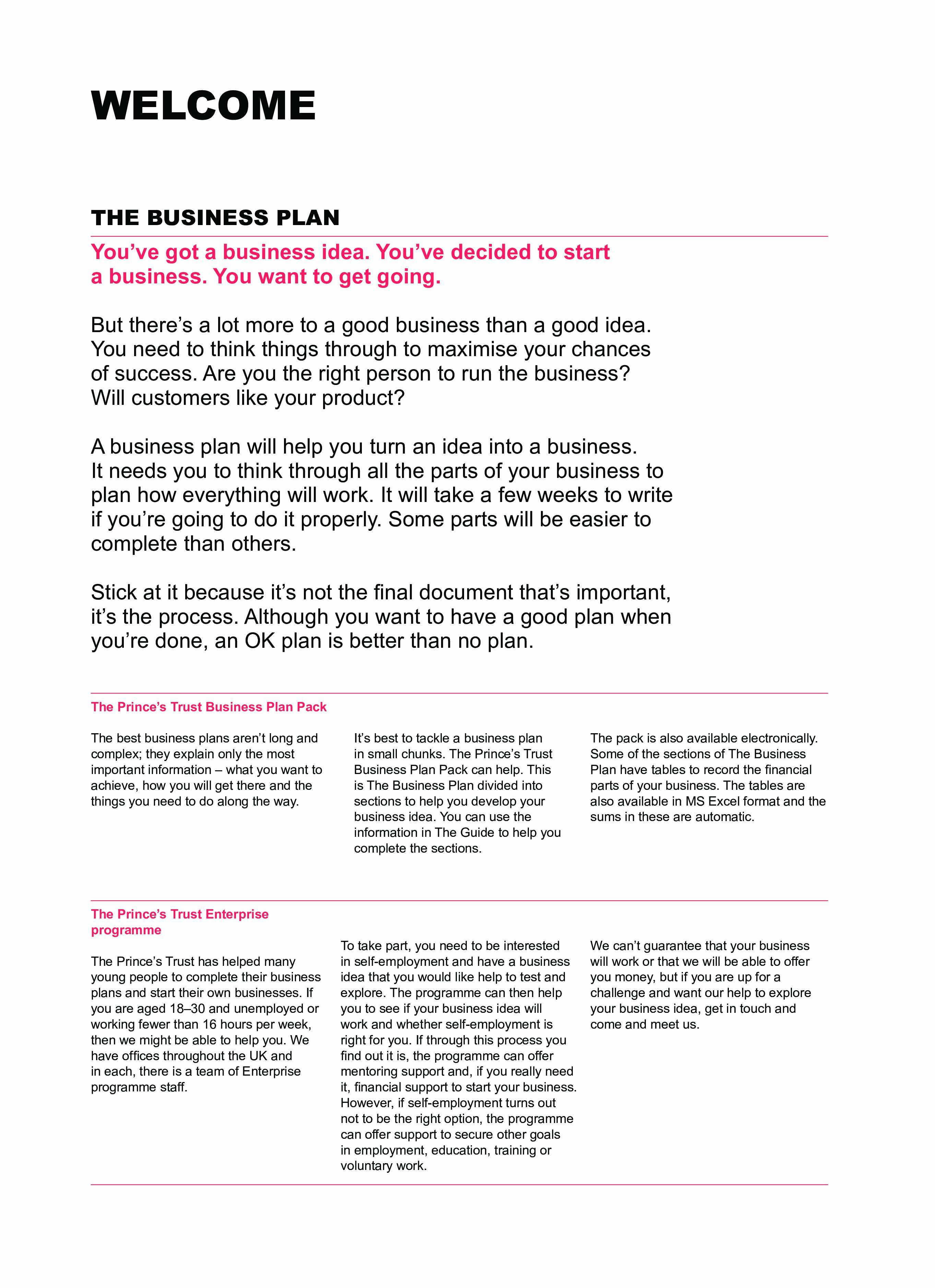 Basic Business Plan Template Free Awesome Financial Section A Business Plan Template Business