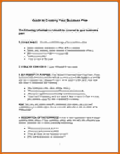 Basic Business Plan Template Free Best Of Simple Business Plan Template Wordreference Letters Words