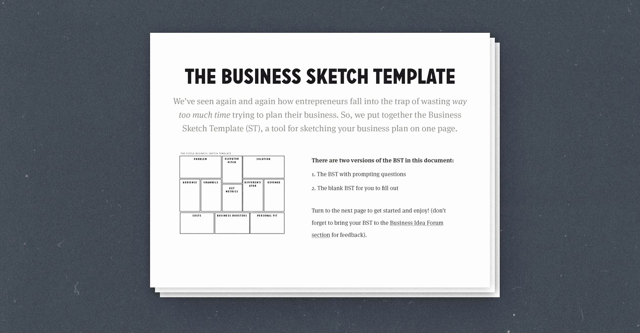 Basic Business Plan Template Free Luxury How to Create A Simple Effective E Page Business Plan