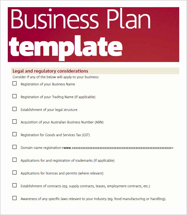 Basic Business Plans Templates Free Beautiful 30 Sample Business Plans and Templates
