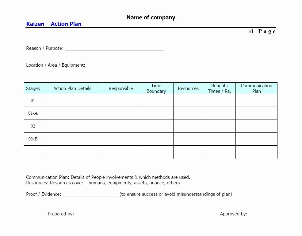 Basic Business Plans Templates Free Best Of Doc Action Plan Sample Template – School Action