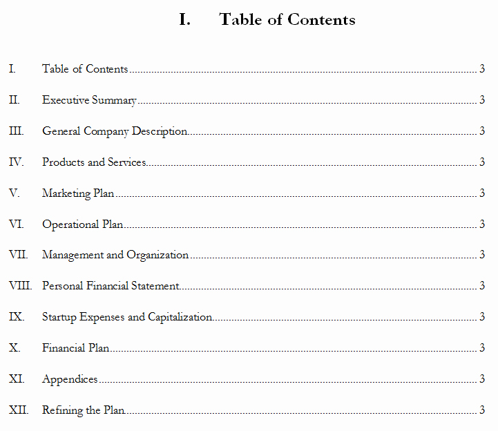 Basic Business Plans Templates Free Inspirational Free Printable Business Plan Template form Generic