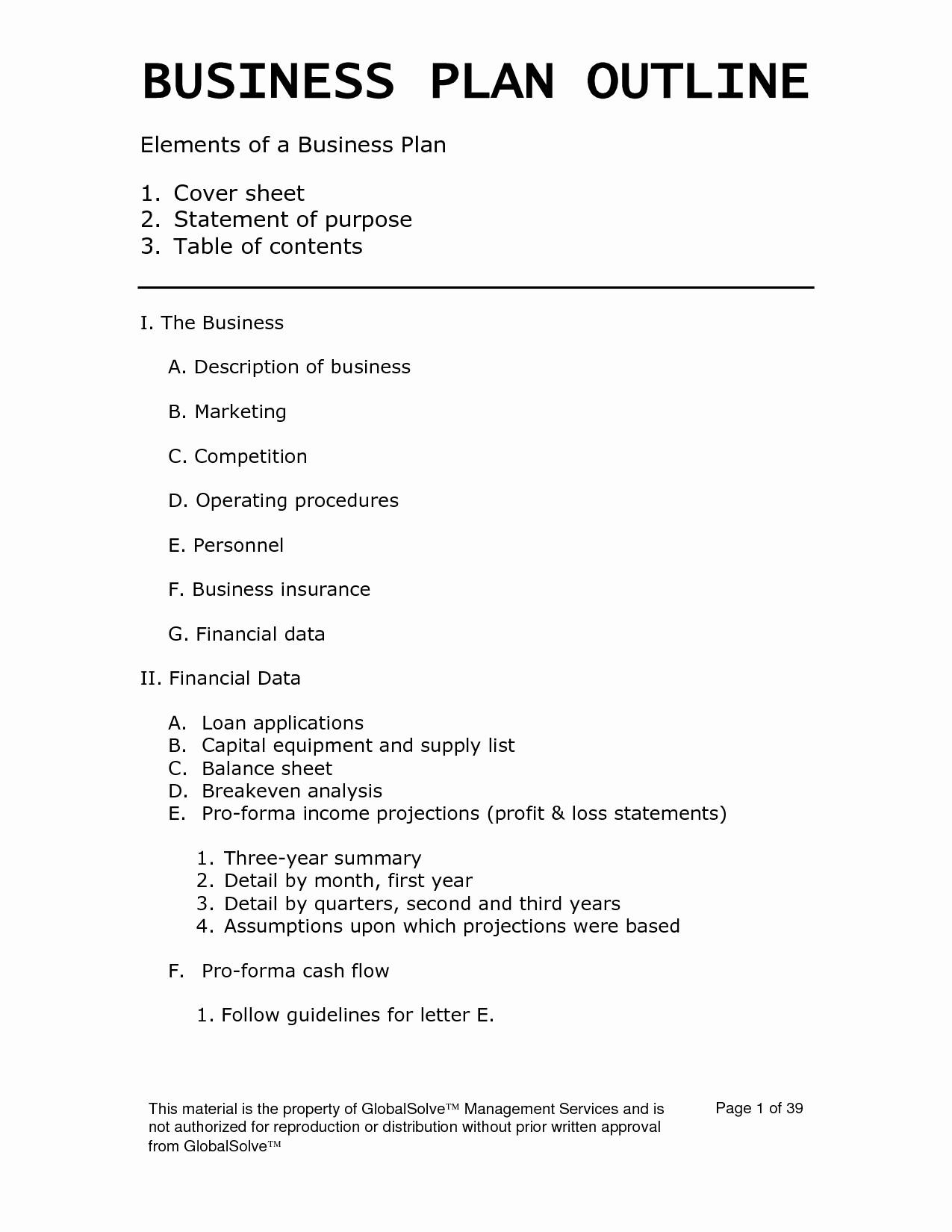 Basic Business Plans Templates Free Unique Easy Business Plan Template Beepmunk