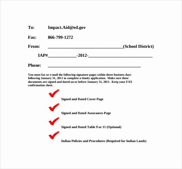 Basic Cover Sheet for Fax Elegant 8 Basic Fax Cover Sheet Samples