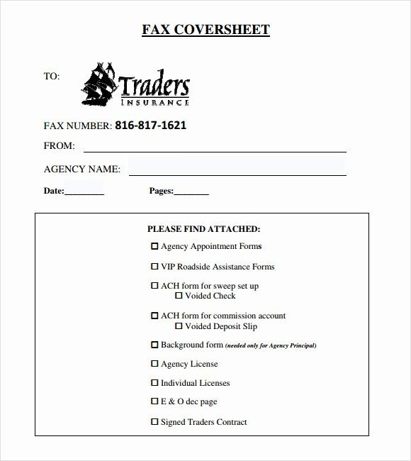 Basic Cover Sheet for Fax Lovely 8 Basic Fax Cover Sheet Samples