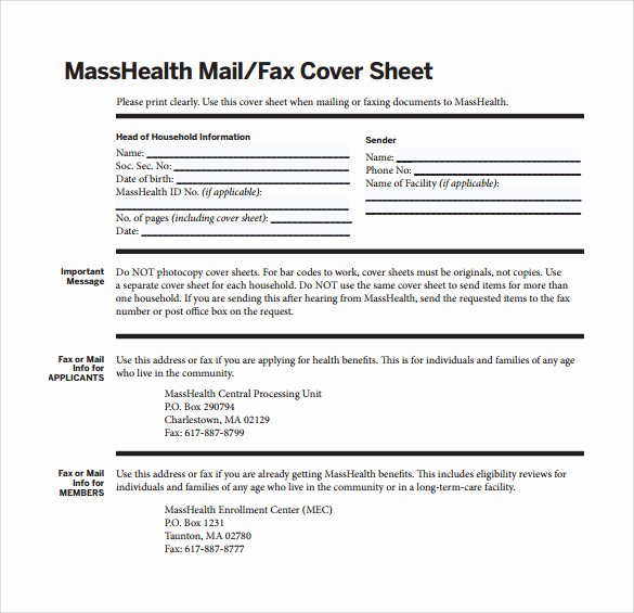 Basic Fax Cover Sheet Template Best Of 14 Sample Basic Fax Cover Sheets