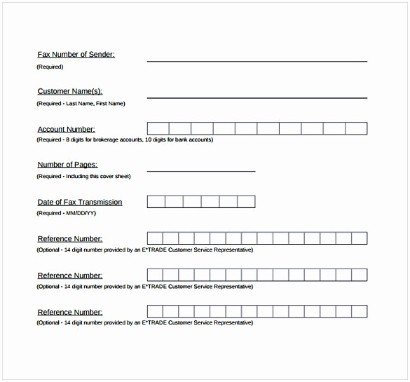 Basic Fax Cover Sheet Template Elegant Basic Fax Coversheet