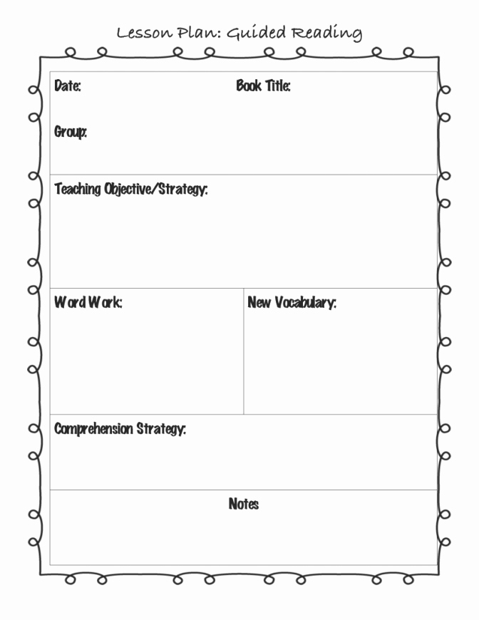 Basic Lesson Plan Template Word Best Of Basic Lesson Plan Template Word Templates Station