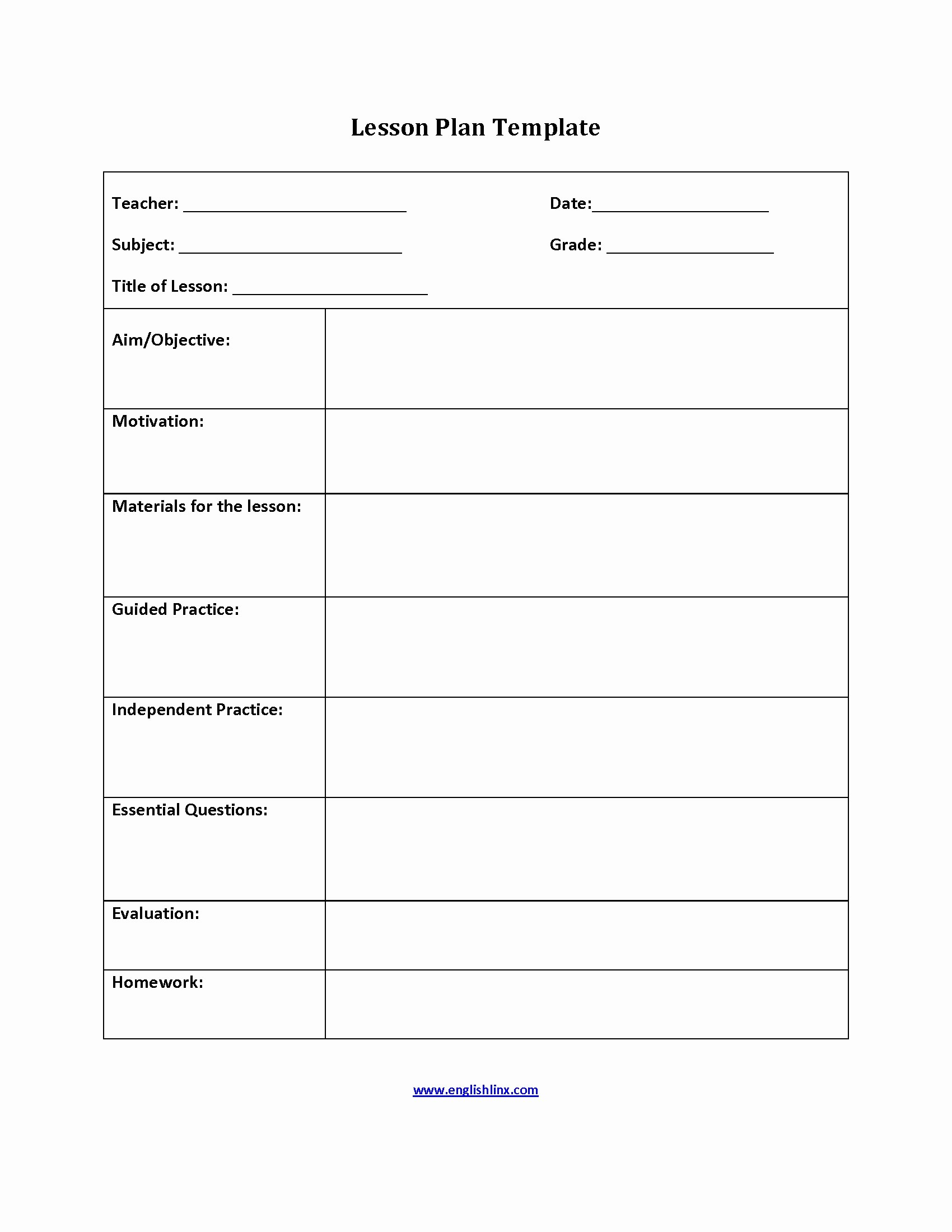 Basic Lesson Plan Template Word Elegant Detail Graph Lesson Plan Template Editable