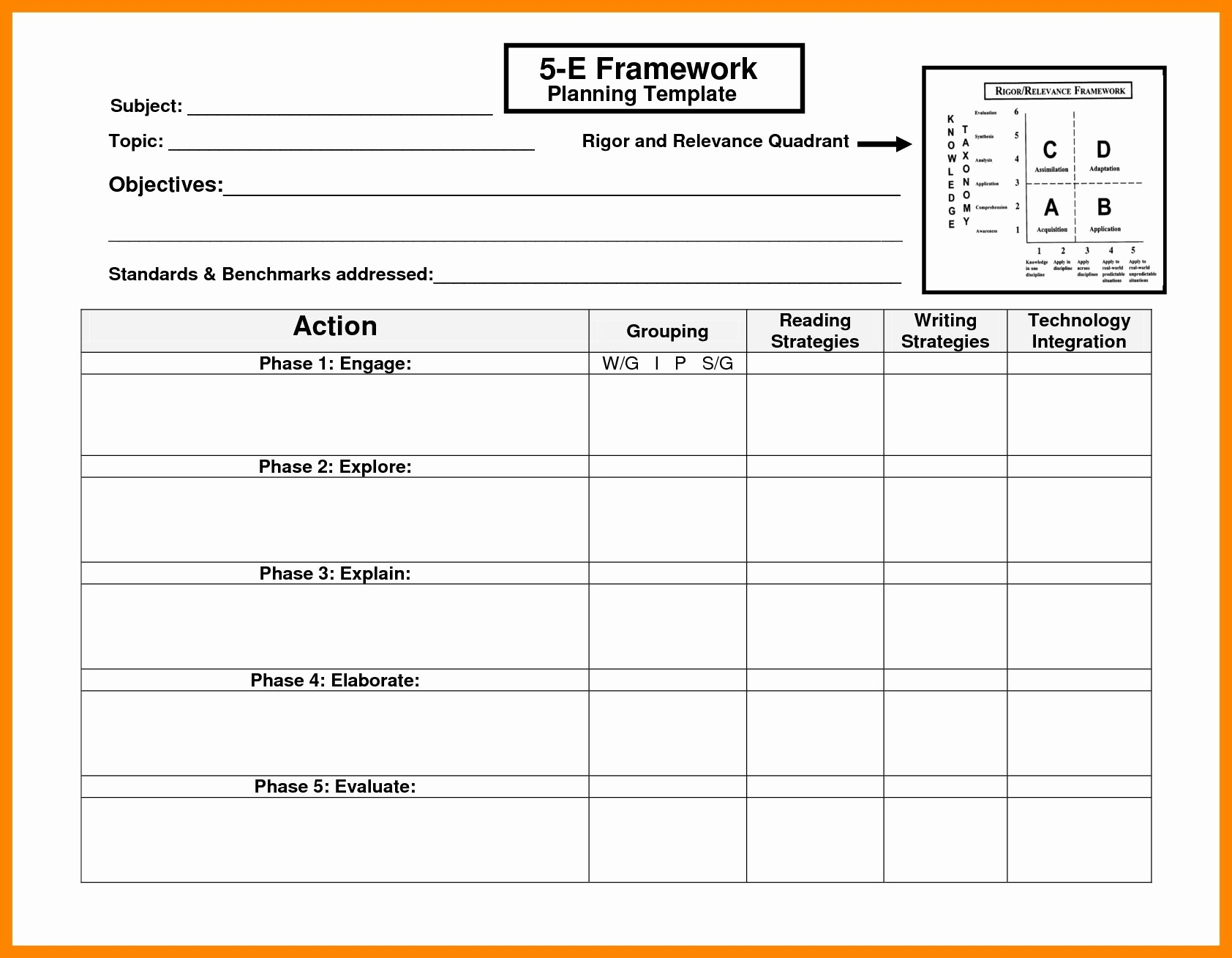 Basic Lesson Plan Template Word Fresh Basic S Madeline Hunter Lesson Plan format