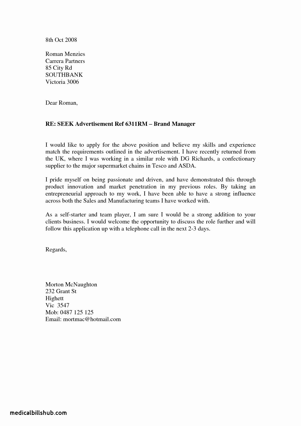 Basic Resume Cover Letter Examples Elegant Teacher Cover Letter No Experience associates Degree In