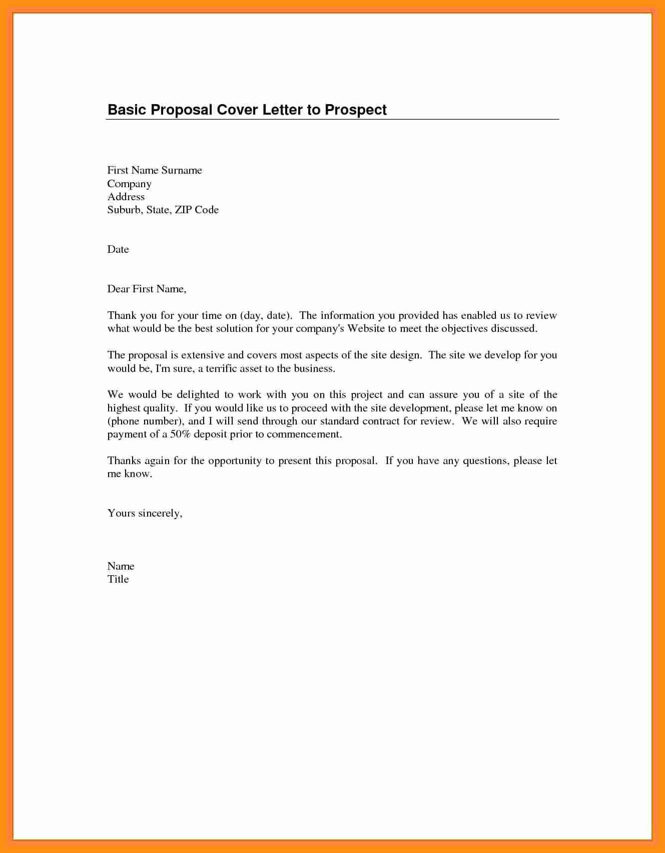 Basic Resume Cover Letter Examples Fresh Basic Cover Letter for Any Job