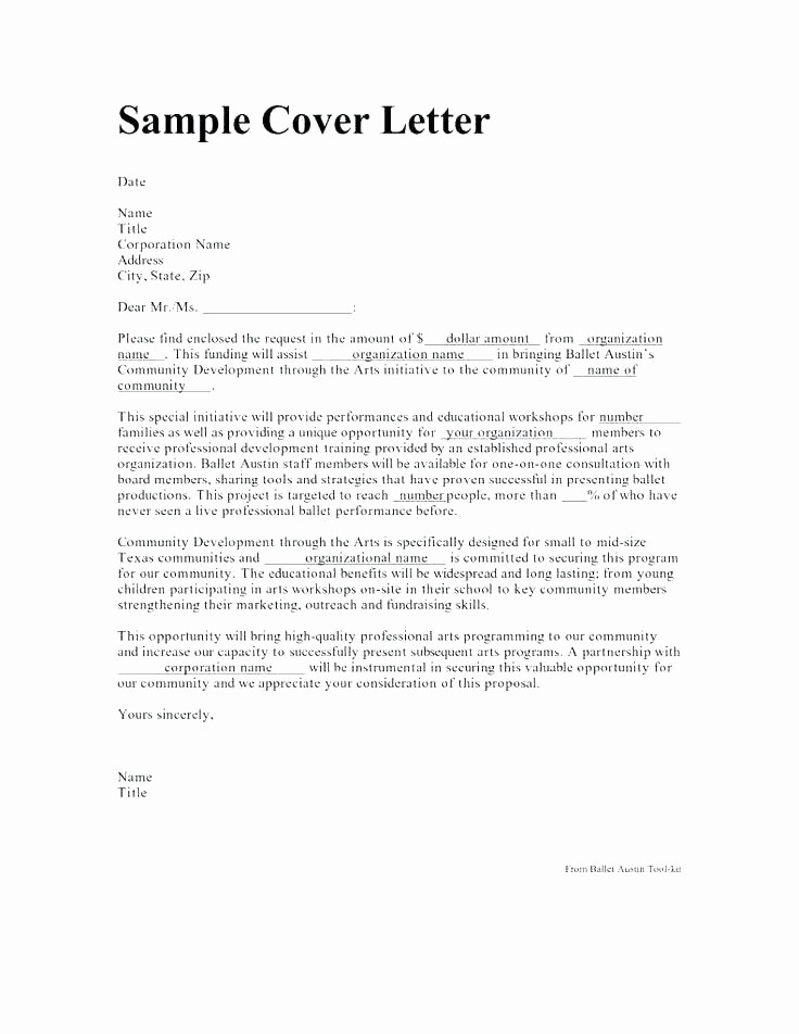 Basic Resume Cover Letter Template Awesome Basic Cover Letters Templates – Creero