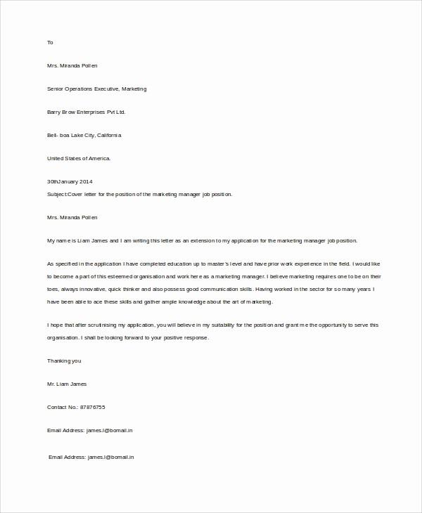 Basic Resume Cover Letter Template Inspirational 8 Basic Resume Examples