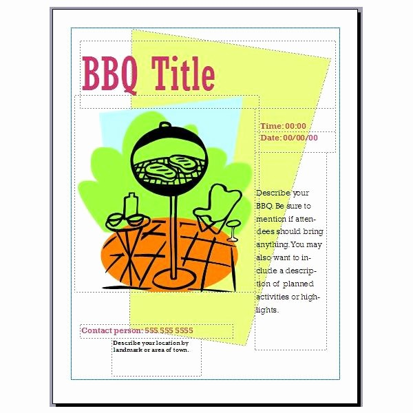 Bbq Fundraiser Flyer Templates Free Best Of Bbq Fundraiser Flyer Template Frompo