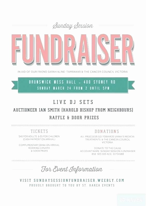 Bbq Fundraiser Flyer Templates Free Best Of Fundraiser Poster Template Help Fundraising Flyer Template