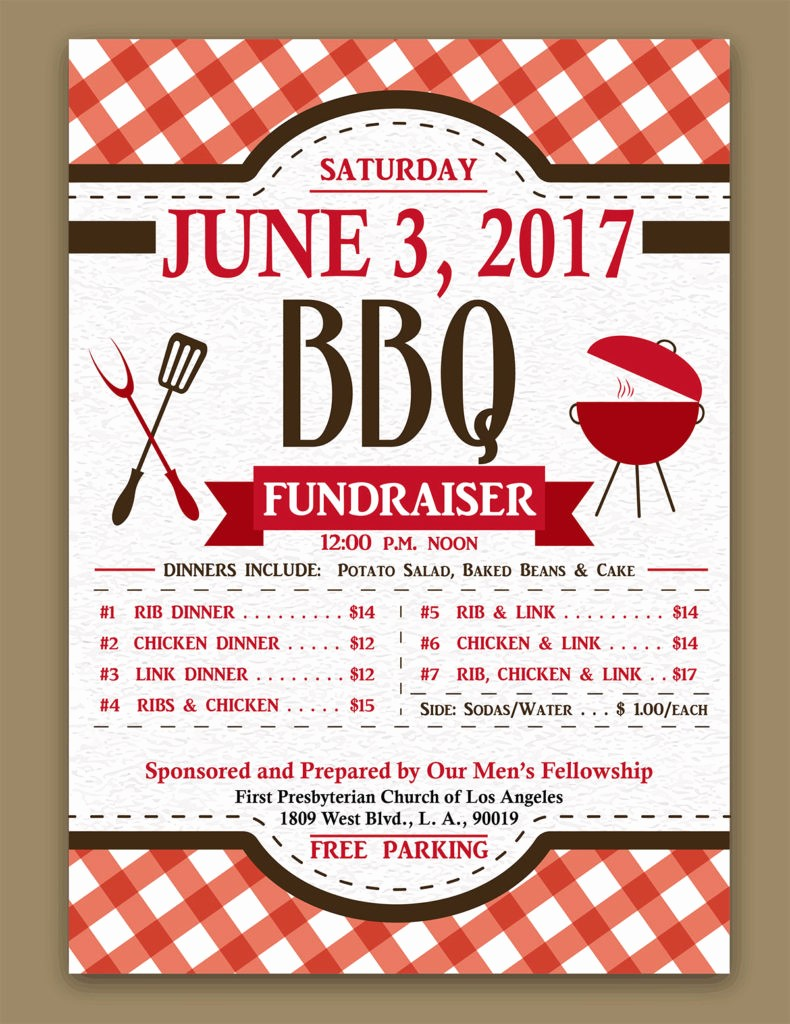 Bbq Fundraiser Flyer Templates Free Elegant Bbq Fundraiser Flyer Template Bing Images
