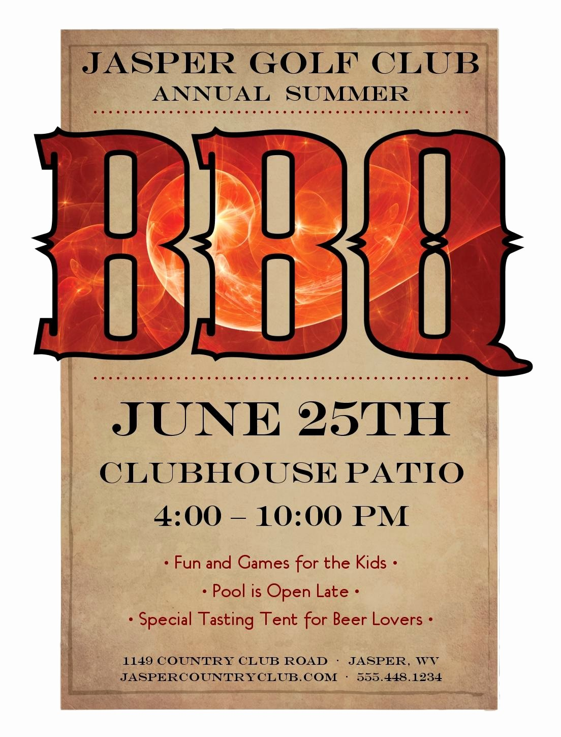Bbq Fundraiser Flyer Templates Free Elegant Cancel Save