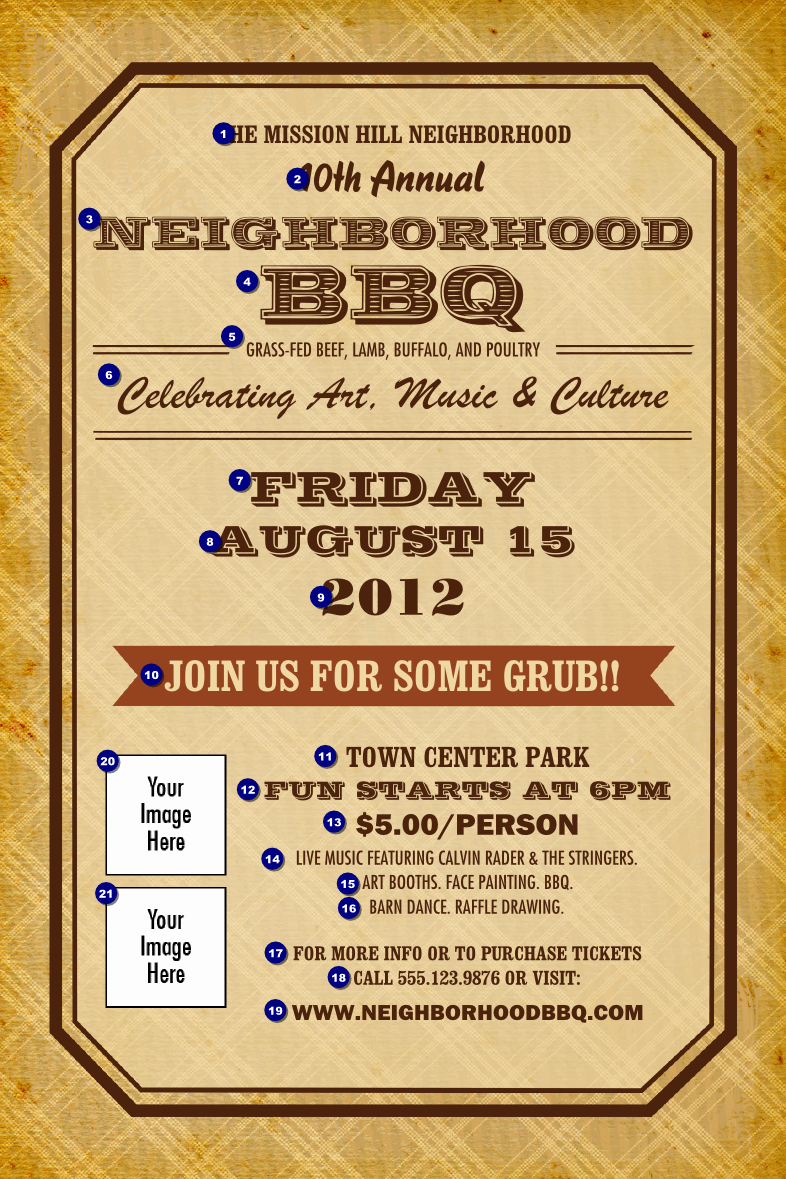 Bbq Fundraiser Flyer Templates Free Inspirational 8 Best Of Bbq Flyer Free Printables Free