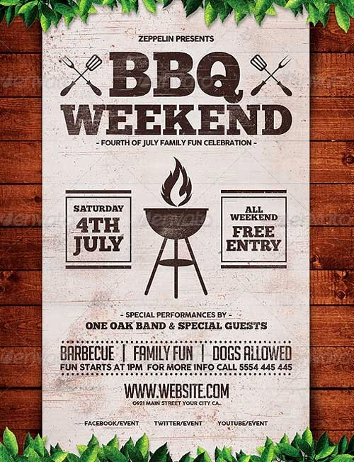 Bbq Fundraiser Flyer Templates Free Lovely Bbq Fundraiser Flyer Template Image Collections Template