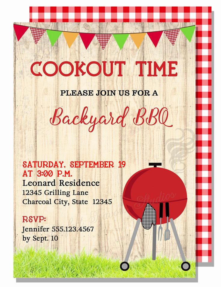 Bbq Party Invitation Templates Free Beautiful Bbq Invitations Adult Invitations