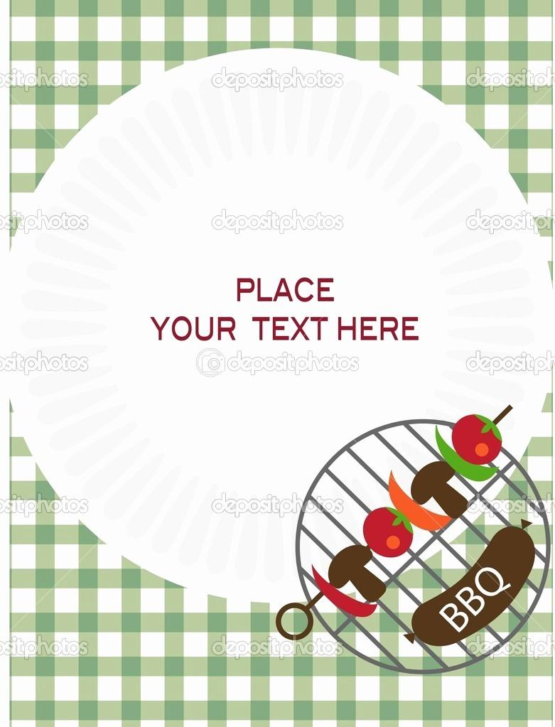 Bbq Party Invitation Templates Free Fresh Bbq Invitation Template Word