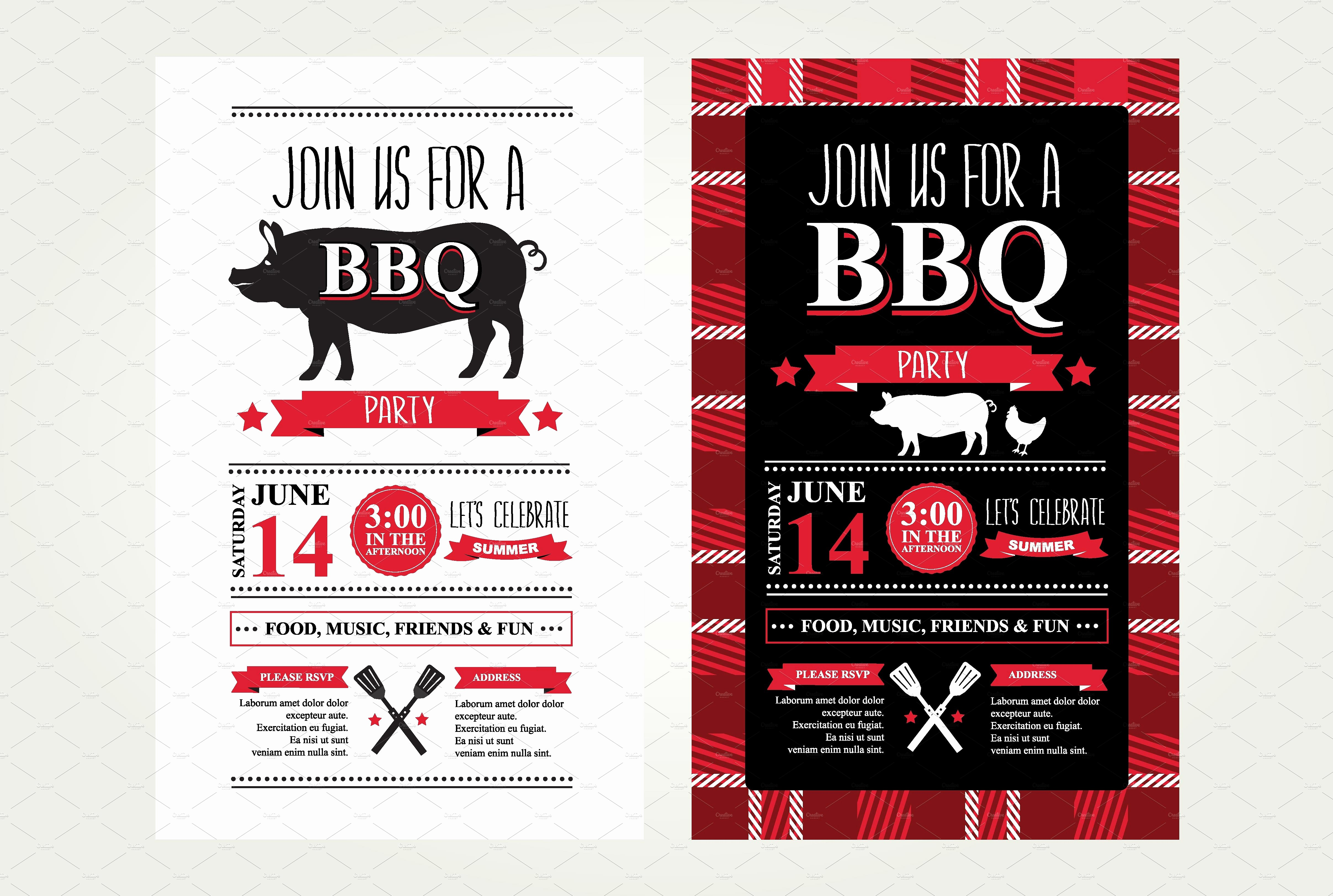 Bbq Party Invitation Templates Free Lovely 2 Barbecue Invitations Invitation Templates Creative