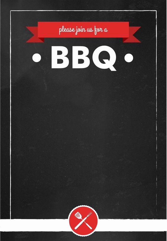 Bbq Party Invitation Templates Free Lovely Bbq Invitation Summer Party Free Printable Barbecue
