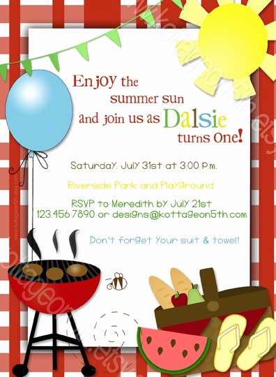 Bbq Party Invitation Templates Free Luxury 17 Summer Bbq Invitation Word Template Free