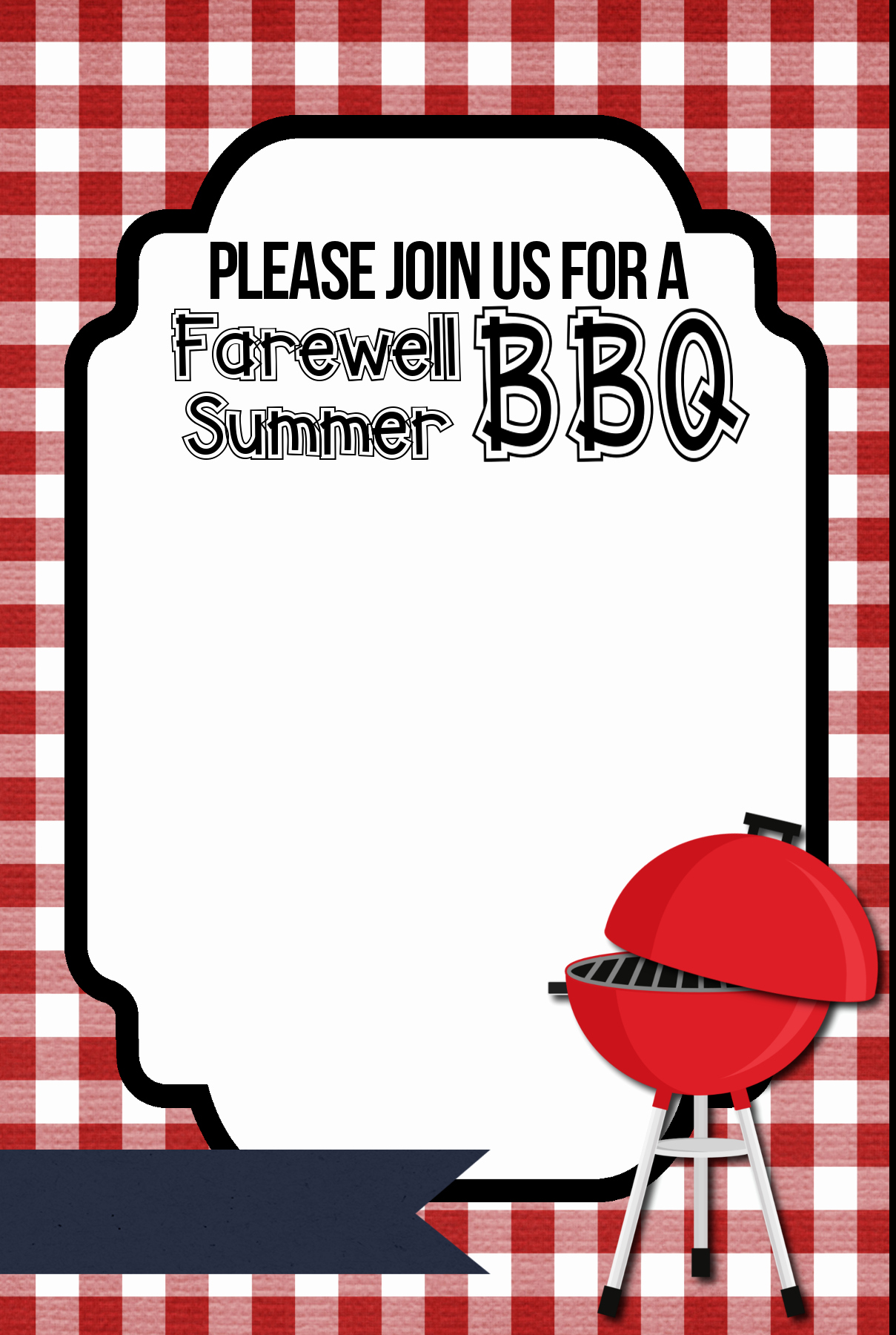 Bbq Party Invitation Templates Free Luxury 8 Best Of Bbq Flyer Free Printables Free