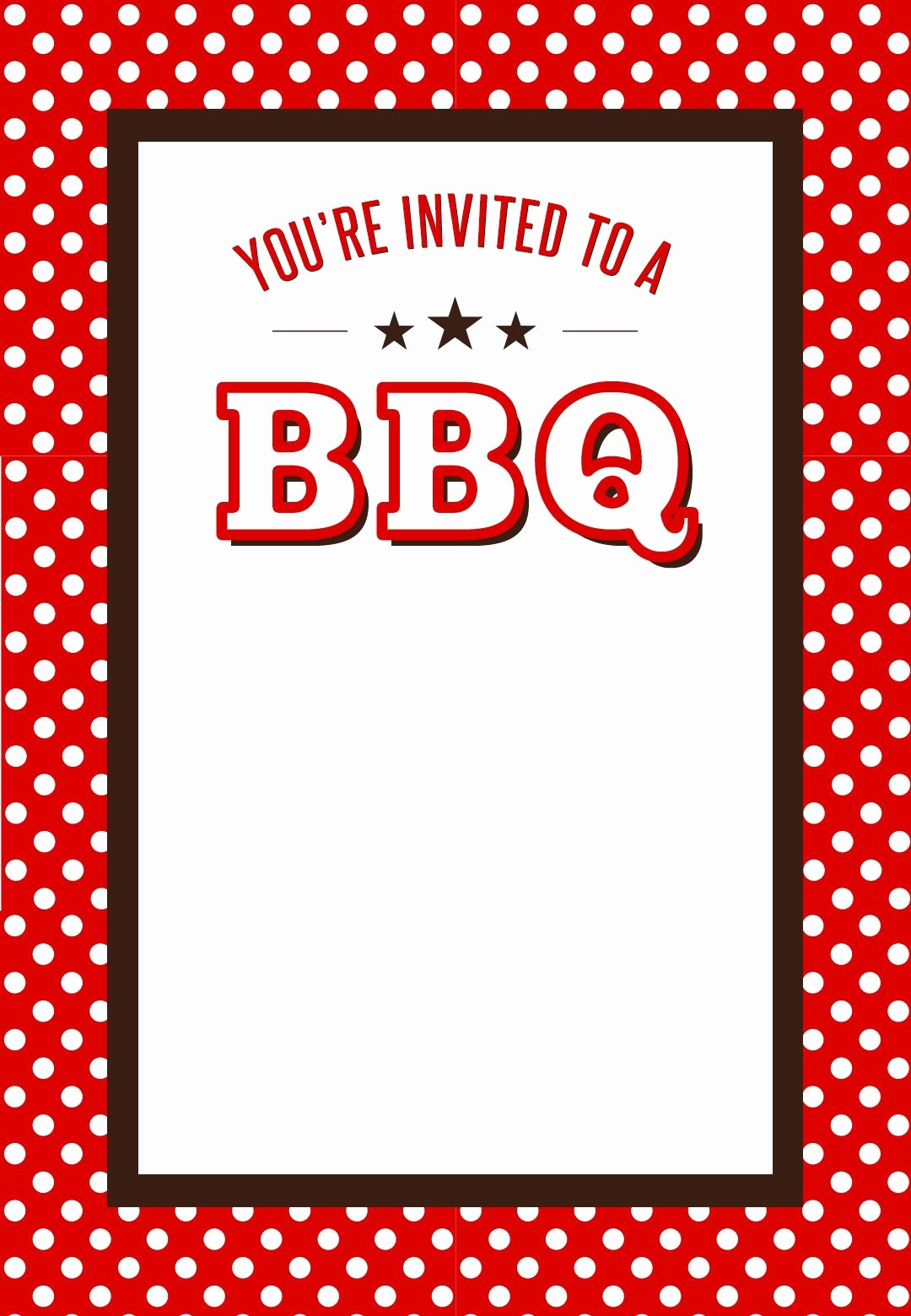 Bbq Party Invitation Templates Free Luxury Bbq Party Invitation Free Printables