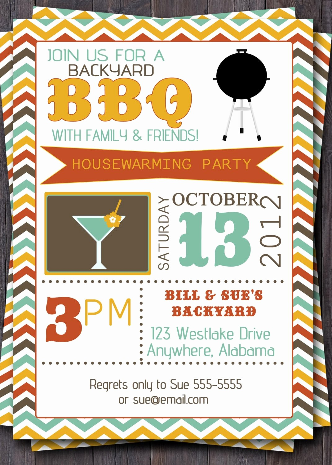 Bbq Party Invitation Templates Free Luxury Bbq Party Invitation Invite Birthday Baby by