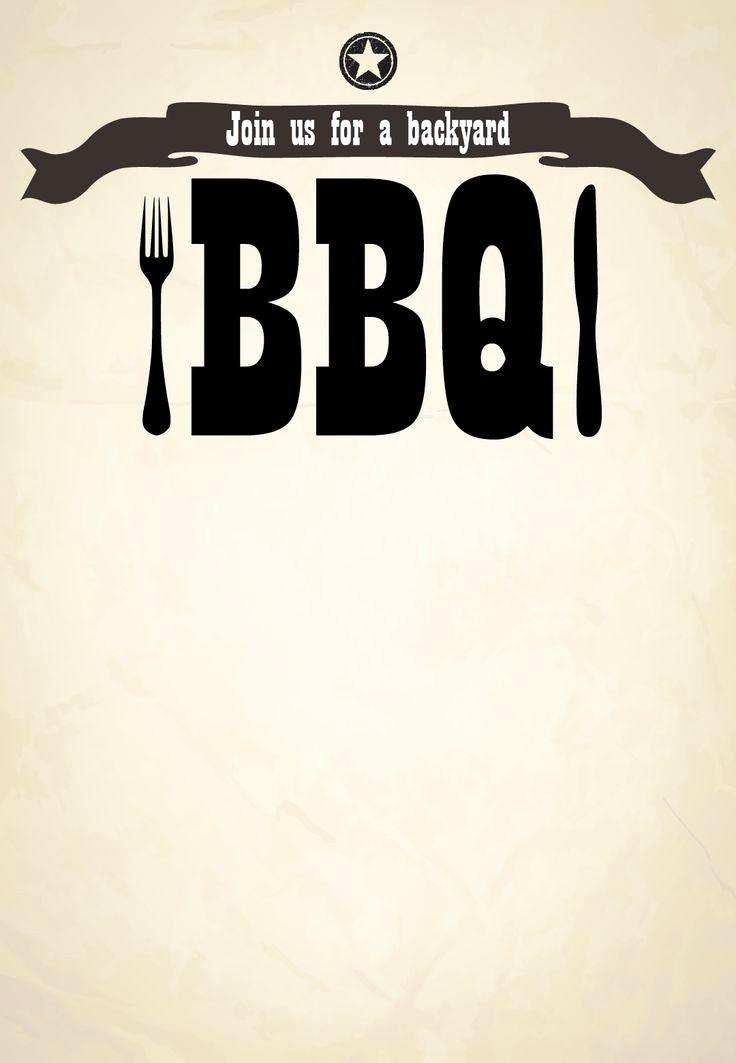 Bbq Party Invitation Templates Free Luxury Free Bbq Party Invitation Templates