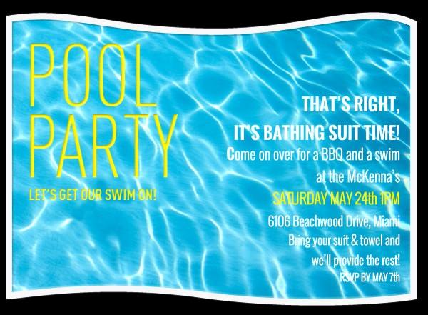 Bbq Party Invitation Templates Free Luxury Pool Party Invitation Template 38 Free Psd format